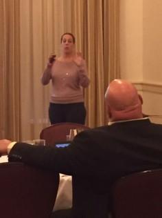 Dr. Judy Vanderhaar, KDE, presents